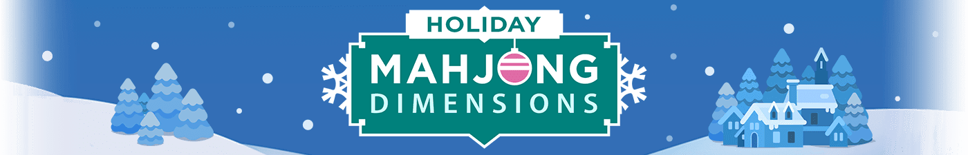 Play games  Holiday Mahjong Dimensions