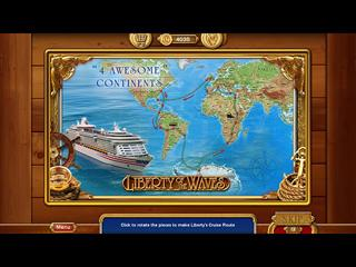 A Fabulous Cruise to 4 Awesome Continents of the World in Vacation Adventures: Cruise Director 7