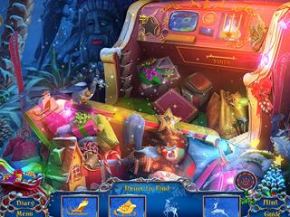 Christmas is in your hands! Help to restore the magic of Christmas to a mysterious island!