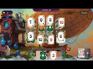 Classic Solitaire set in the dream dimension! Enjoy Dreams Keeper Solitaire