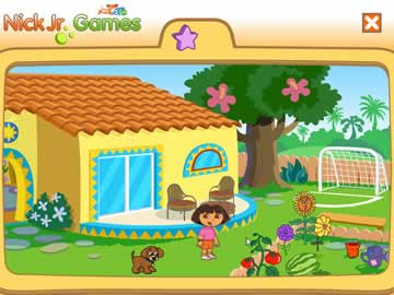 Explore The Fun Inside Dora's Home!