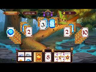 Help Mages harness the power of the elements! In Solitaire Elemental Wizards