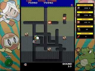 Here is the Exact Arcade Version of Dig Dug!