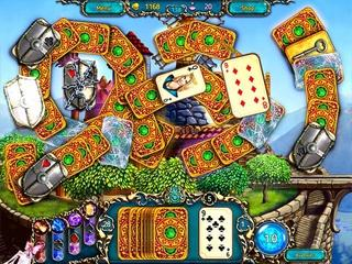 In a world of magic! Dreamland Solitaire: Dragon's Fury will cast a spell of delight over you!