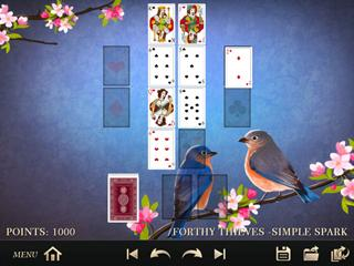 Master unknown versions of solitaire in this great card game.