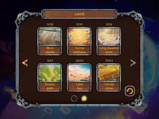 Pirate's Solitaire is a card game and a naval battle! Treasure island awaits you