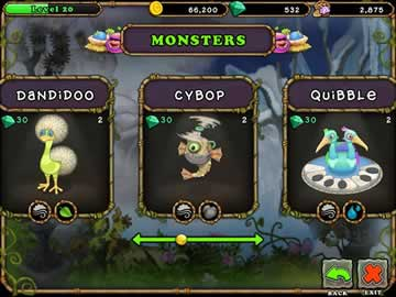 Purchase, Breed and Assemble an Orchestra of Musical Monsters!