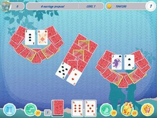 Solitaire: Match 2 Cards. Valentine's Day-a card game and a love story.