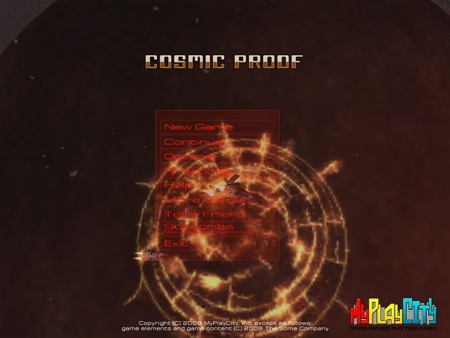 Cosmic Proof