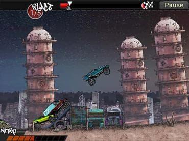 Monster Trucks: Urban Race
