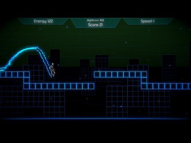 Neon Void Runner