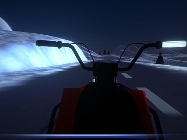Snowmobile Simulator