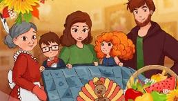 Thanksgiving Day: Mosaic